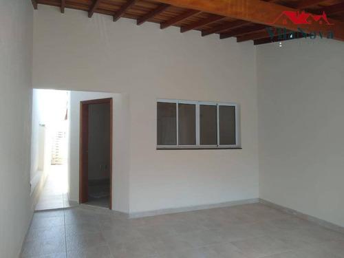 Casa Com 3 Dormitórios À Venda, 101 M² Por R$ 385.000,00 - Jardim São Francisco - Indaiatuba/sp - Ca1751