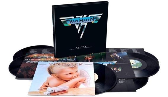 Van Halen - Deluxe Box Set 6 Vinilos Nuevo