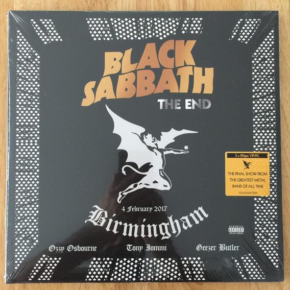 3 Lps Black Sabbath The End - 180 Gram Vinyl Novo Lacrado!!!