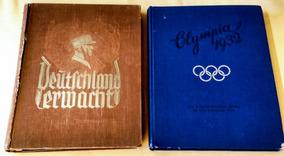 Álbum Figurinhas Jogos Olímpicos 1932 Alemanha 2ª Guerra