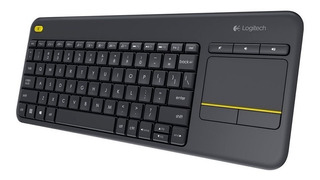 Teclado Logitech K400 Plus Smart Tv Wireless Touch Keyboard