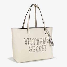 Bolsa Branca Material Sintético - Victoria Secret