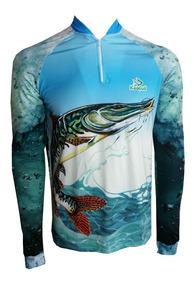 Camisa De Pesca Pintado Uv50 + Kaa06 Kaapua E Tube De Brinde