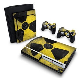 Skin Ps3 Fat Adesivo Playstation 3 Radioativo