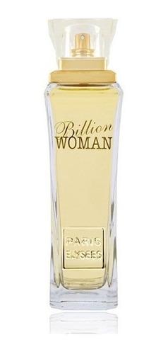 Billion Woman Paris Elysees Perfume Feminino De 100 Ml