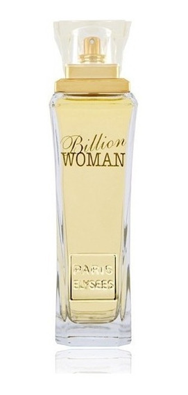 Billion Woman Paris Elysees Perfume Feminino De 100 Ml