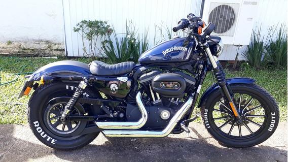 Harley Davidson 883 Iron - Azul