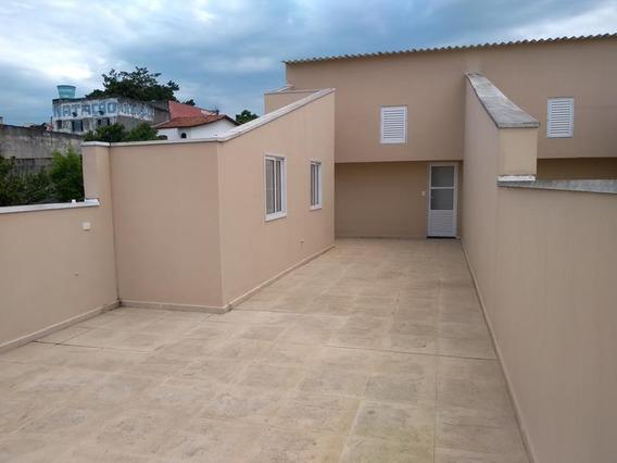 Cobertura Em Vila Curuçá, Santo André/sp De 127m² 3 Quartos À Venda Por R$ 350.000,00 - Co498720