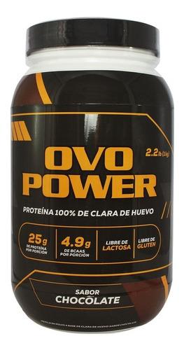 Ovo Power 100% Albumina De Clara De Huevo - Proteína