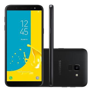Celular Samsung Galaxy J6 32gb Novo Black C/ Nota E Garantia