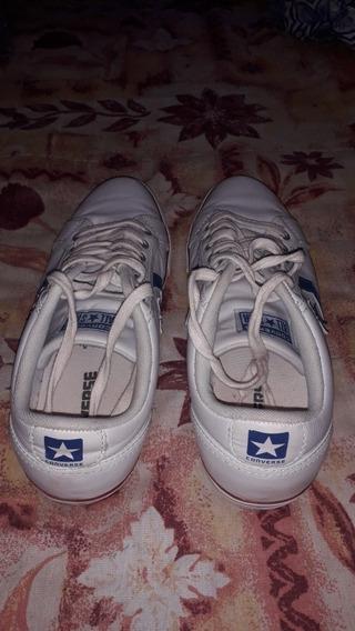 Zapatillas All Star Converse Cuero N° 38.5 Unisex