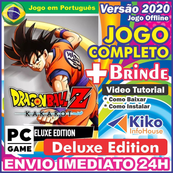 Dragon Ball Z: Kakarot Deluxe Edition + 4dlc Pc + Brinde