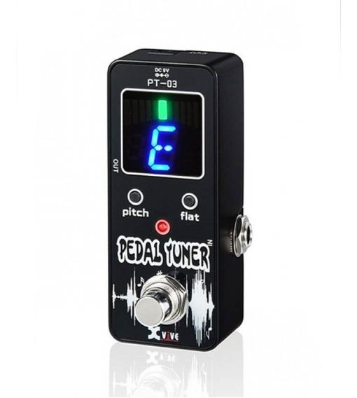 Pedal Afinador Cromatico True By Pass P Guitarra Y Bajo Pt03