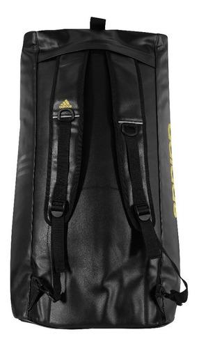 El sendero estimular Fortalecer  Bolsa Mochila adidas Judo 2in1 Poliéster Preto/dourado | Mercado Livre