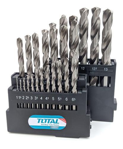 Set De 25 Mechas Hss De Alta Total - Para Hierro, Industrial