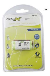 Bateria Telefone Sem Fio Tipo 69 Fx-70u Flex