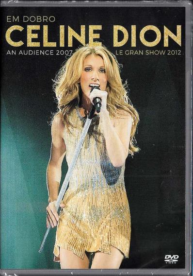 Celine Dion Dvd Em Dobro Le Gran Show / An Audience Novo