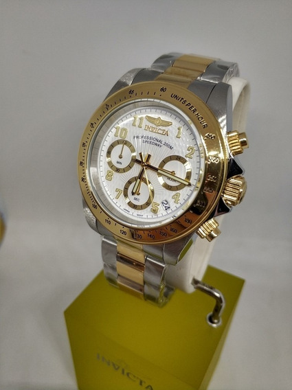 Invicta 17026 Speedway 40mm Todo Aco Inox Duo Color