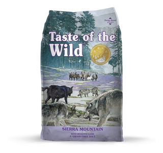 Taste Of The Wild Sierra -cordero- X 28lb
