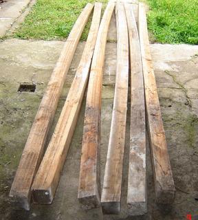 Tirante Postes De Madera 3 X 3 Pulg. X 3 Mts