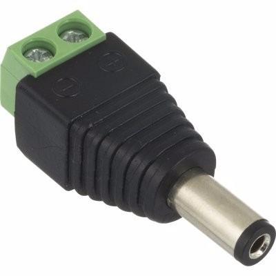 Plug P4 Kre Com Borne Entrada De Energia Em Câmera E Ou C/2