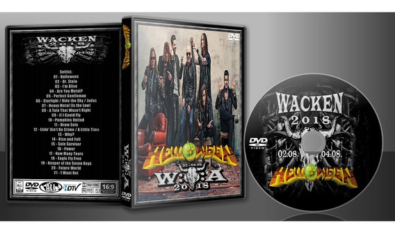 Dvd Helloween Pumpkins United Wacken 2018