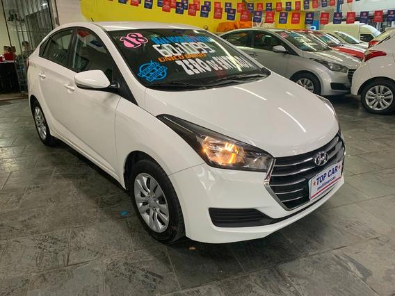 Hyundai Hb20s 2018 - Zero De Entrada 2018