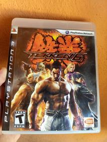 Tekken 6 Ps3 Original Midia Fisica Semi Novo