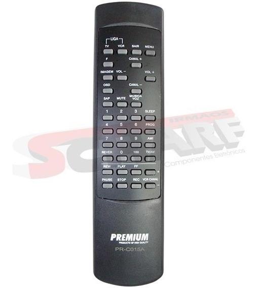 Controle Remoto Cougar Sharp - Aplicação No Anúncio - Prc015