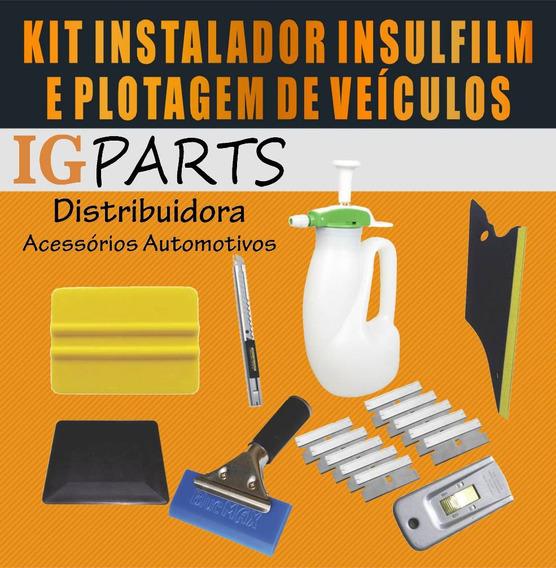 Kit Ferramentas Profissionais P/ Instalador Insulfilm Plotagem Indispensável
