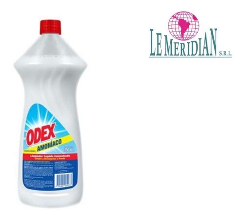Odex Limpiador Amoniaco Líquido 1250 Ml X 6 Und