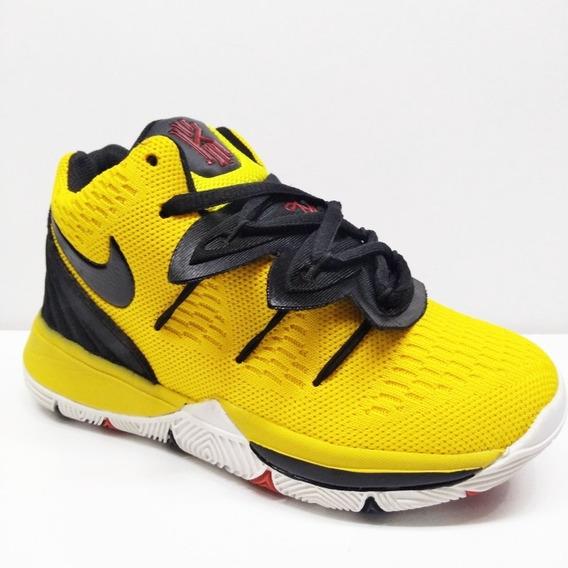 Zapatos Botas Niños Nike Air Kirye Irving 5 Zoom Bingo Hi