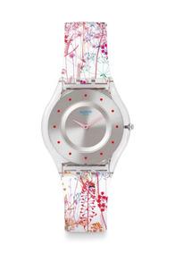 Reloj Jardin Fleuri Trasparente Swatch