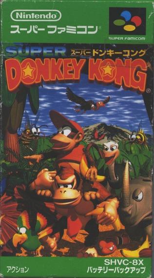Donkey Kong 1 Original Snes Super Famicom