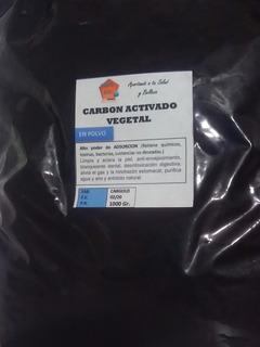 Carbon Vegetal Activado - 1000gr O 1kg