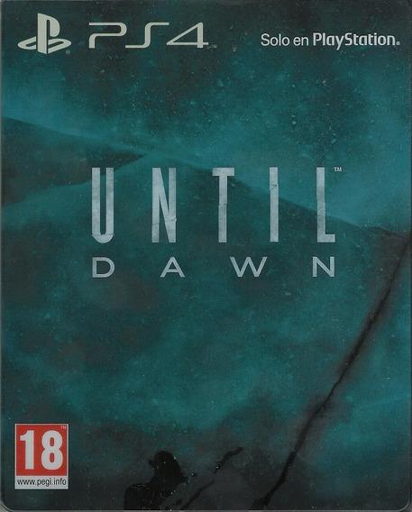 Until Dawn: Special Edition - Steelbook Ps4