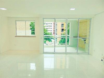 Apartamento Com 2 Quartos À Venda, 118 M², Área De Lazer, Financia - Meireles - Fortaleza/ce - Ap1624