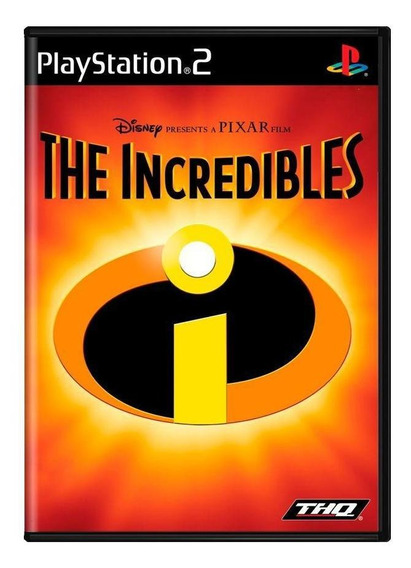The Incredibles Ps2 Mídia Física Pronta Entrega