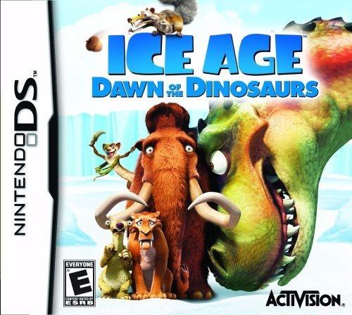 Jogo Ice Age Dawn Of The Dinosaurs Nintendo Ds Frete Grátis
