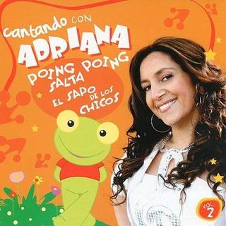 Cd Adriana Cantando Con Adriana Vol 2 Open Music D-
