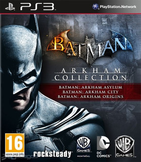 Batman Arkham Collection Ps3 (no Cd) Psn