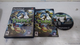 Tmnt Turtles Completo Play Station 2,excelente Titulo