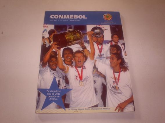 Revista Conmebol Nº 108 - Julio Agosto 2008