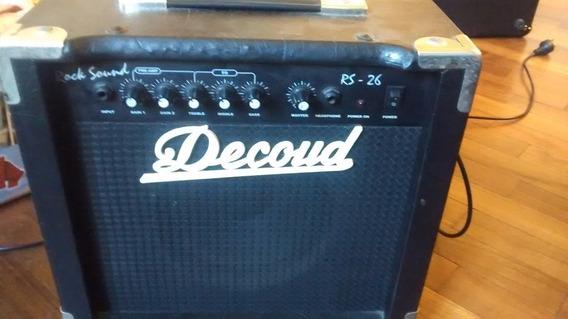Amplificador De Guitarra Decoud Rs-26 20 W - Los Chiquibum