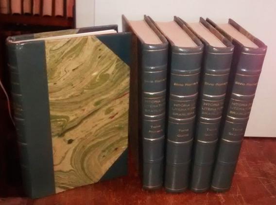 Livro História Da Literatura Brasileira (5v.) Silvio Romero