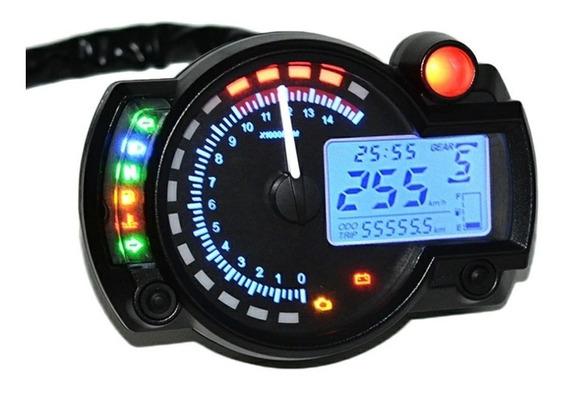 Painel Moto Digital Universal Pronta Entrega 7 Cores 299kmh