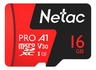 Cartão Memória Microsd 16gb Extreme Pro Netac