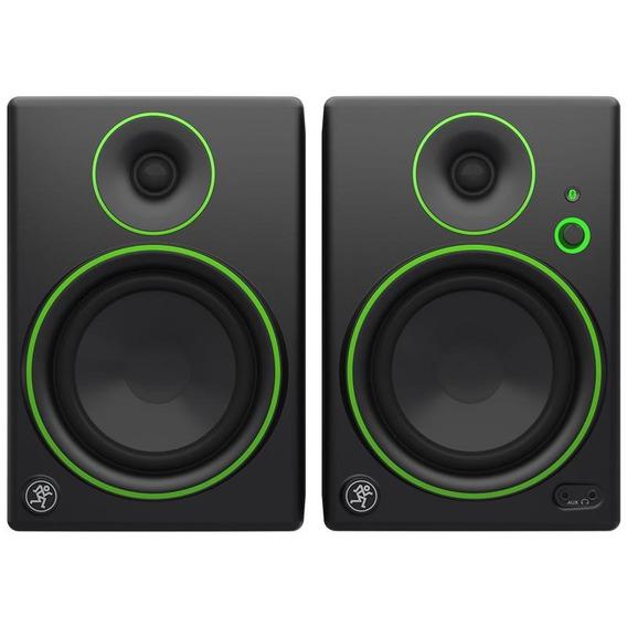 Monitor De Áudio 5 Mackie Par Com Bluetooth Cr5bt