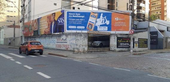 Terreno À Venda, 280 M² Por R$ 860.000,00 - Centro - Campinas/sp - Te4438