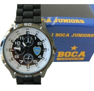 Set Reloj Supertop Y Llavero Boca Con Boligrafo De Regalo